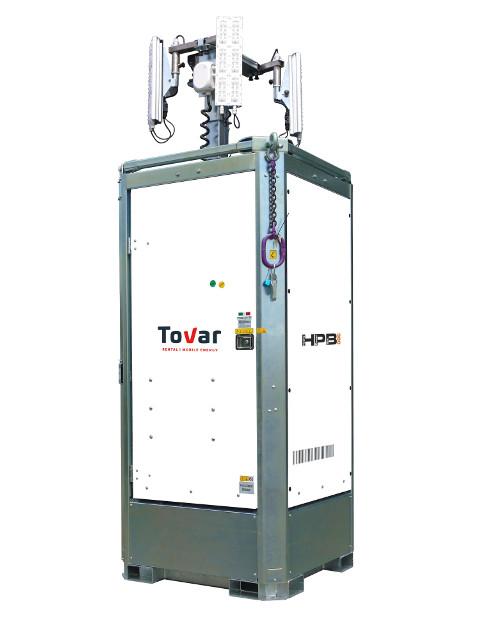 Lichtmast Hydropowerbox