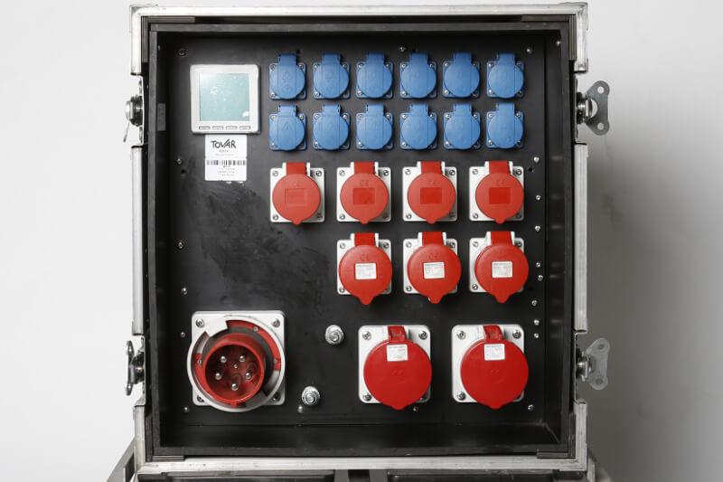 Flightcase Verteiler VT 125 ST